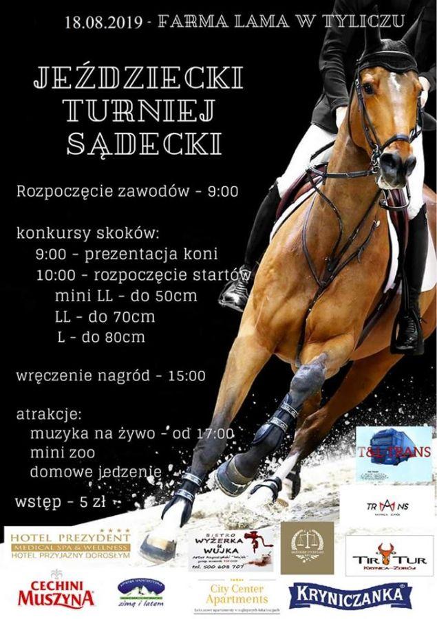 Turniej Jeździecki - zaproszenie