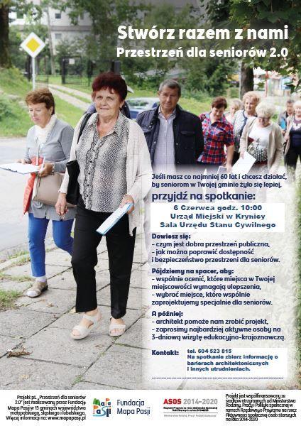 Zaproszenie dla seniorów